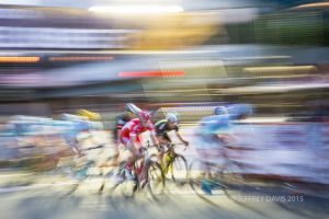 RACING IN RED, SAN RAFAEL SUNSET CRITERIUM, CALIFORNIA