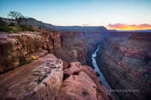 SUNSET AT TOROWEAP, NORTH END, GRAND CANYON NATIONAL PARK, ARIZONA