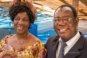CHARLES AND MARGARET MUMBA, FOUNDERS HOPE COMMUNITY SCHOOL, NDOLA, ZAMBIA