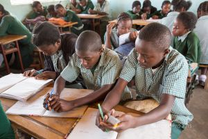 ENGAGED IN LEARNING, HOPE COMMUNITY SCHOOL, NDOLA, ZAMBIA