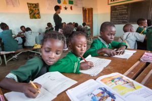 THE POWER OF WRITING AND STORY, HOPE COMMUNITY SCHOOL, NDOLA, ZAMBIA