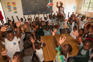 MORNING GREETING, SIANKABA NURSERY SCHOOL, ZAMBIA