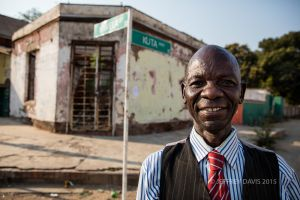 STANDING STRONG, STREETS OF LIVINGSTONE, ZAMBIA