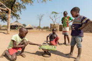 THE SHARK TAKES AIM, HOME MADE POOL TABLE, SIANKABA, ZAMBIA