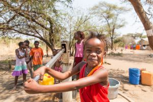 DEBBORA, KEFA VILLAGE WATER PROJECT, MFUWE, ZAMBIA