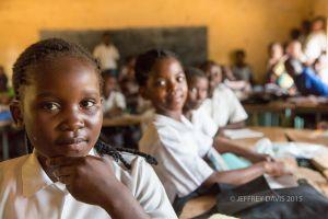 MATH CLASS, MFUWE SCHOOL, ZAMBIA