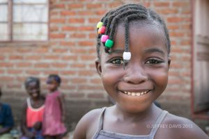 JACKLINE, SIX YEARS OLD, NYACHOTA VILLAGE, MFUWE, ZAMBIA