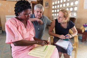 PUBLIC HEALTH CLINIC VISIT, UPPER KOMENDE VILLAGE, SIERRA LEONE