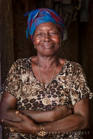 WARMTH AND WISDOM, MANOU VILLAGE, SIERRA LEONE