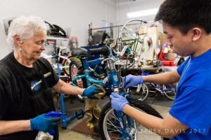 PARTNERSHIP AND TEACHING, HOPE CYCLES, SAN JOSE